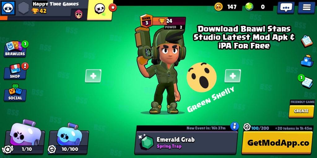 brawl stars mod apk 2299  unlimited money  100 working